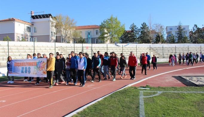 """Karaman'da """"Koşabiliyorken Koş"""" Projesine Yoğun İlgi"""