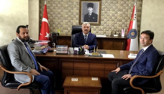 Rektör Akgül'den Emniyet Teşkilatına Ziyaret