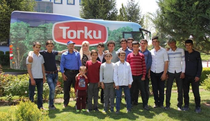 Torku, İlk İmaj Filminde Oynayan Çocuk Yıldızlarını Ağırladı