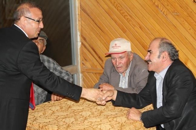 AK Parti Milletvekili Aday Adayı Göktekin'in Ziyaretleri Devam Ediyor