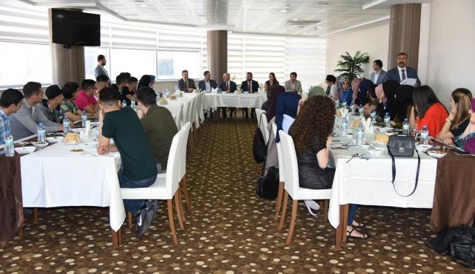 Hollanda'dan Türk Dilinin Başkenti Karaman'a Kardeşlik Köprüsü