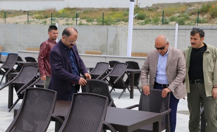 Şehit Muhammed Yalçın Seyir Terasları Sosyal Tesisleri Hizmete Açılıyor