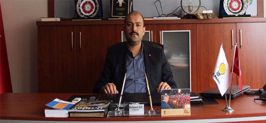 """AK Parti İl Başkanı Mehmet Er """"Barışa ve Huzura Vesilen Olan Bir Bayram Olsun"""""""