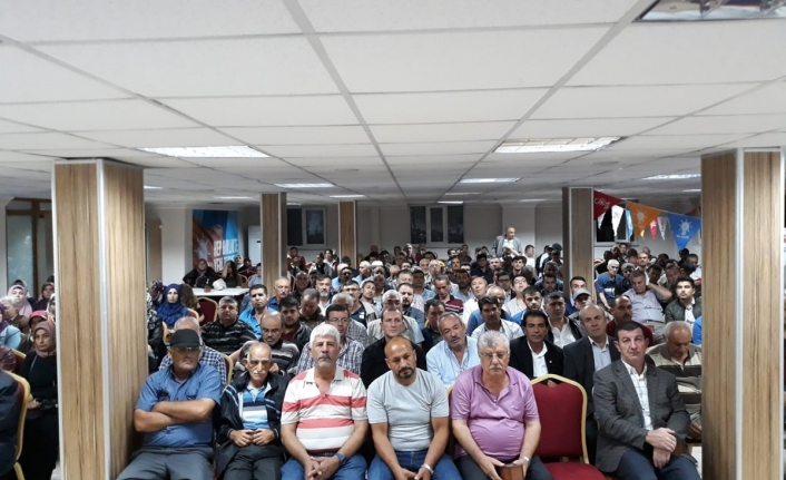 AK Parti İl Teşkilatında Sandık Görevlilerine Eğitim Verildi