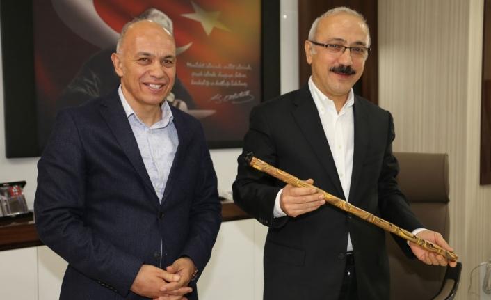 Kalkınma Bakanı Elvan, Tatlı Suyun Düğmesine Basacak