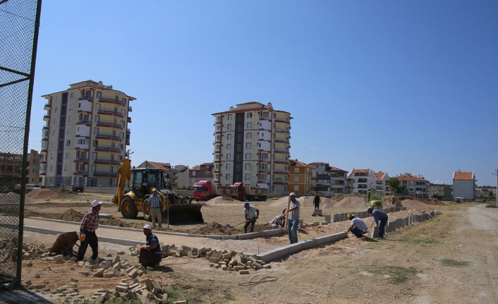 Mehmet Bey Mahallesi'ne Yeni Park