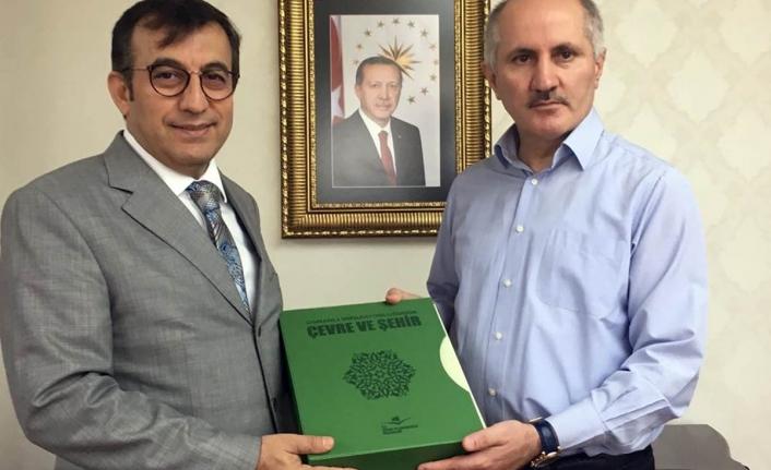 Müsteşar Yardımcısı Refik Tuzcuoğlu'ndan Nezaket Ziyareti