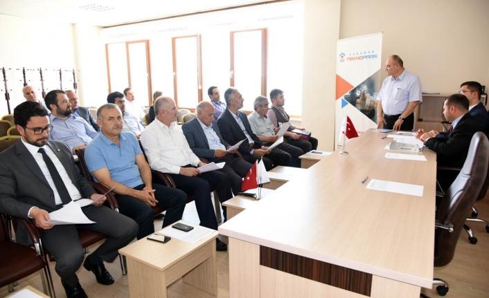 Teknoloji Geliştirme Bölgesi Olağan Genel Kurulu Toplandı