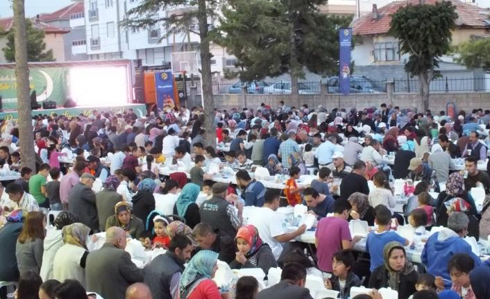 Turkcell Karaman'da 2900 kişiye iftar verdi