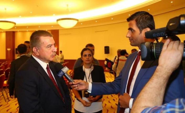Akarca, 15 Temmuz Etkinlikleri Kapsamında 37 Ülkeden 120'yi Aşkın Gazeteciye FETÖ Gerçeğini Anlattı