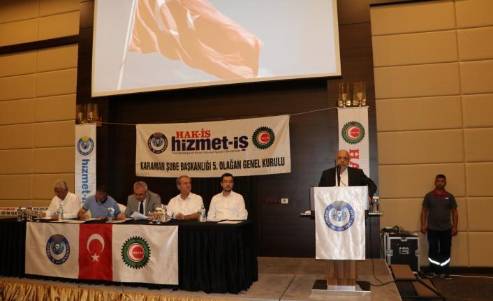 """Hak-İş Konfederasyonu Genel Başkanı Mahmut Arslan: """"Hala Hesaplaşma Devam Ediyor"""""""