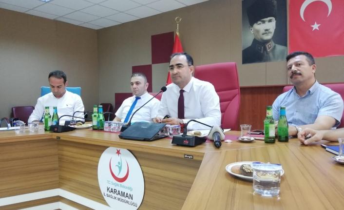 Karaman'ın Sağlık Yatırımları Değerlendirildi