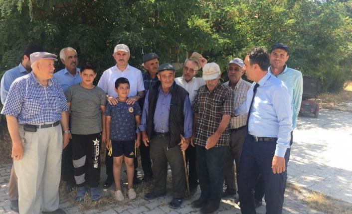 Vali Meral Kameni Ve Kılbasan Köylerini Gezdi