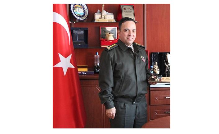 Karaman Jandarma Komutanı Değişti