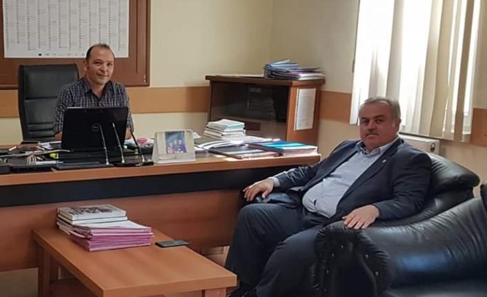 Milletvekili Şeker'den Sosyal Yardımlaşma ve Dayanışma Vakfına Ziyaret