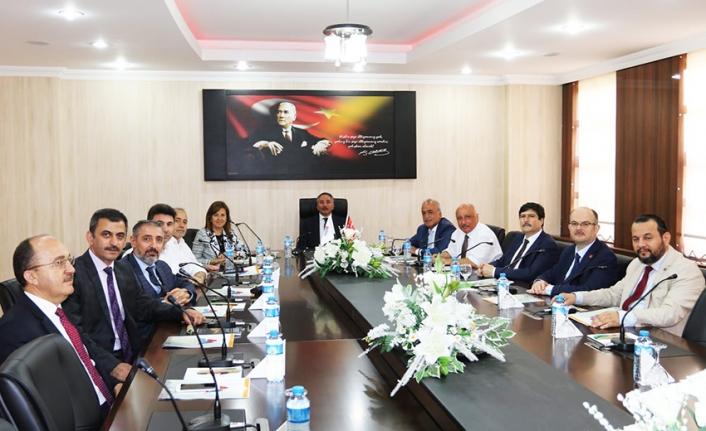 Rektör Akgül Rektörler Toplantısına Katıldı
