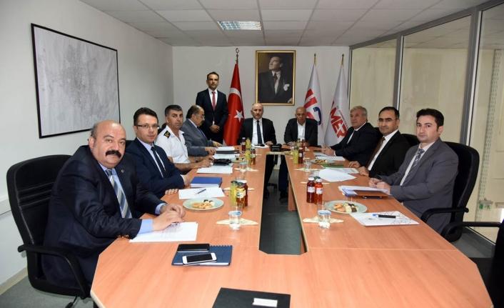 112 Acil Çağrı Hizmetleri İl Koordinasyon Komisyonu Kurulu Toplandı
