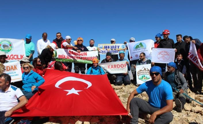 Dağcılar Tomarza'da Buluştu