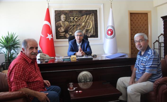 KGRT'den Cumhuriyet Başsavcısı Yılmaz'a Hoşgeldin Ziyareti