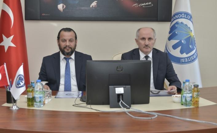 KMÜ'de Üniversite Güvenlik Koordinasyon Toplantısı Yapıldı
