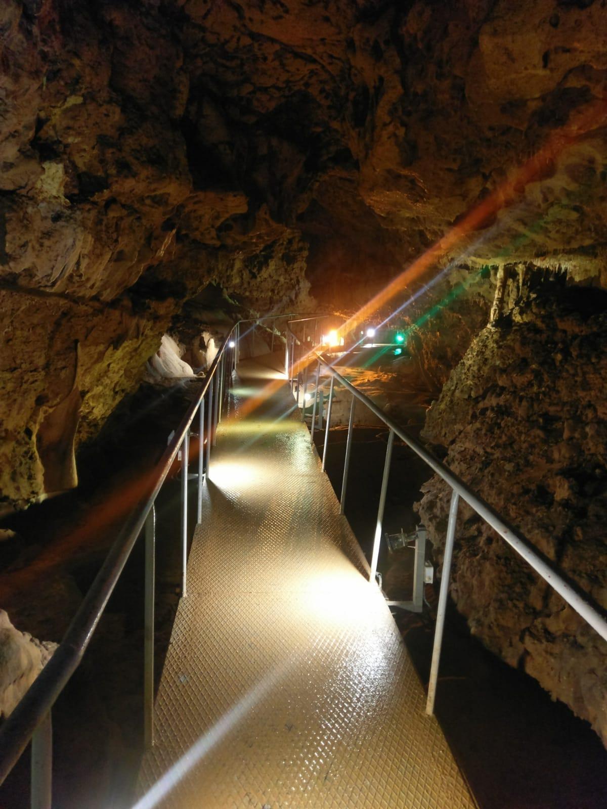 Kültürel Mirasımız İncesu Mağarasının Aydınlatma Sistemi Yenilendi