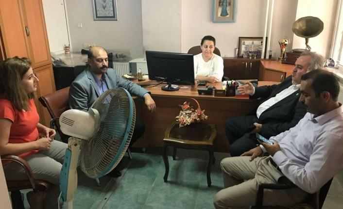 Milletvekili Şeker Hafta Sonunu Esnaf Ziyaretlerine Ayırdı