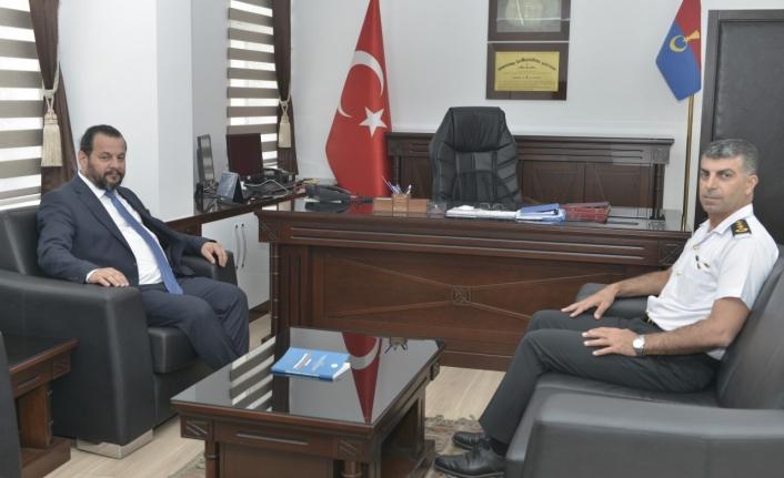 Rektör Akgül'den Alay Komutanına Ziyaret