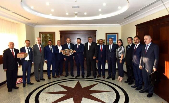 Türkiye Kırmızı Et Üreticileri Merkez Birliğinden Tarım Bakanlığına Ziyaret