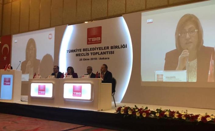 Başkan Çalışkan Türkiye Belediyeler Birliği Encümen Üyeliğine Seçildi