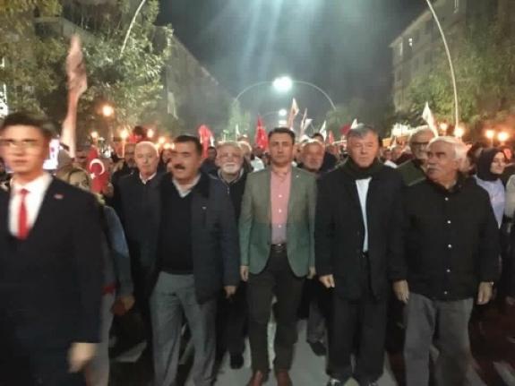 Fener Alayı Karaman Caddelerini Aydınlattı