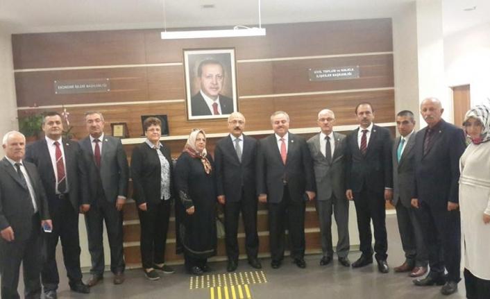 İl Genel Meclisi Üyeleri Ankara'da