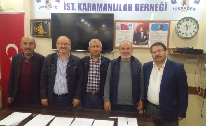 İstanbul'daki Karamanlılar Seçime Gitti
