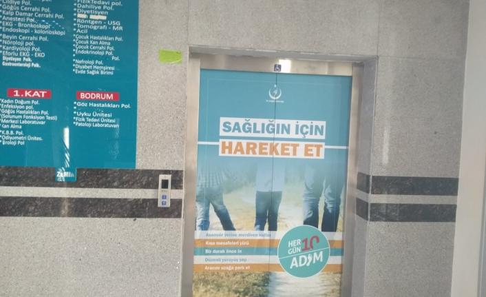 Karaman Devlet Hastanesinden Asansör Açıklaması