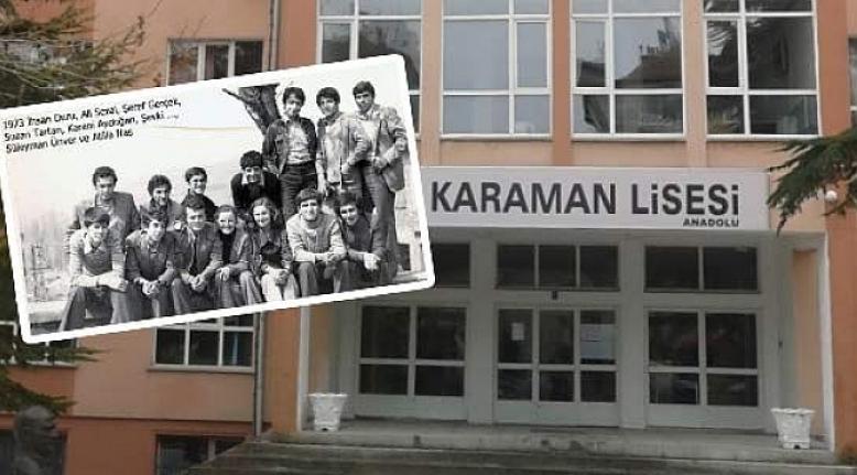 Karaman Lisesi 74-75 Mezunları Buluşuyor