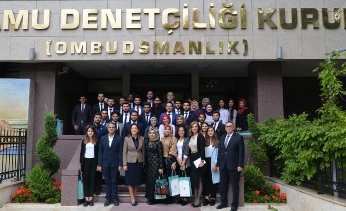 KMÜ'lü Öğrenciler KDK'yi Ziyaret Etti