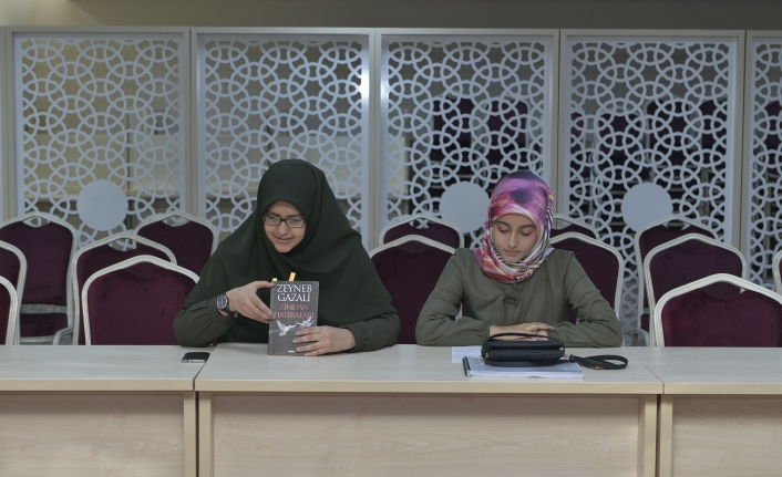 KMÜ Öğrencileri Zeynep Gazali Ve Kitabını Ele Aldı