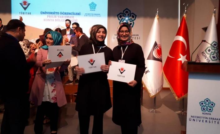 KMÜ Öğrencilerinden TÜBİTAK Proje Yarışmasında İkincilik