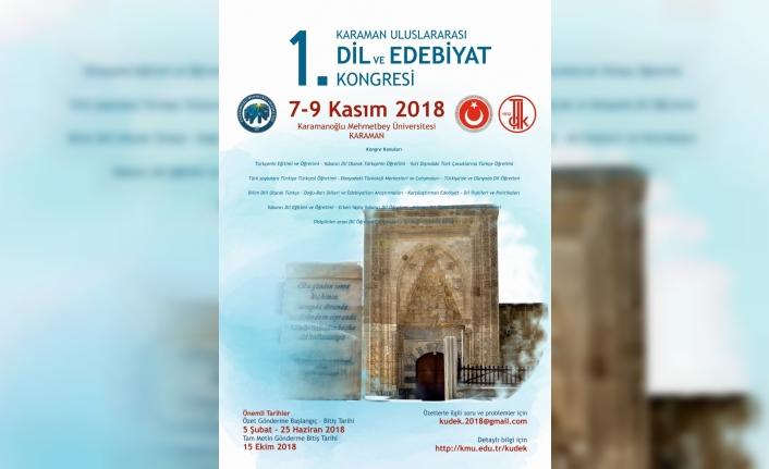 KMÜ, Uluslararası Dil Ve Edebiyat Kongresine Hazır