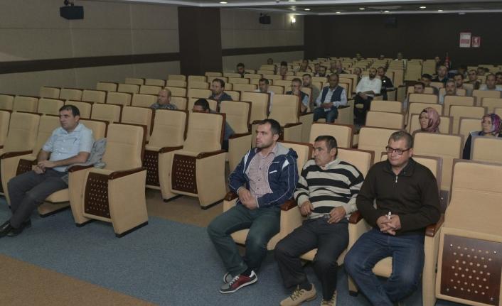 KMÜ'de İş Sağlığı Ve Güvenliği Eğitimi Verildi