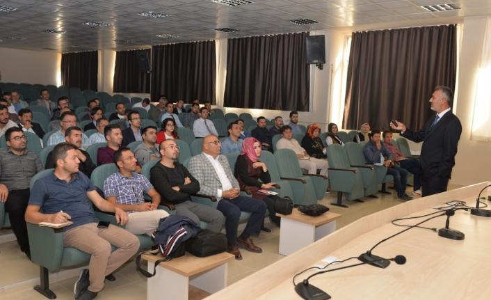 KMÜ'de TÜBİTAK Bilim Fuarları Tanıtım Toplantısı Düzenlendi
