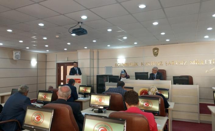 Orman Ve Tarım Yatırımları İl Genel Meclisinde Ele Alındı