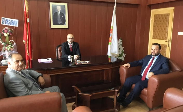 Rektör Akgül Baro Başkanı Av. Oktay Yılmaz'ı Ziyaret Etti