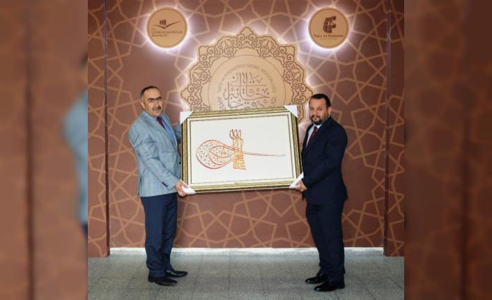 Rektör Akgül'den, Dr. Bekir Tarık Yiğit'e Ziyaret