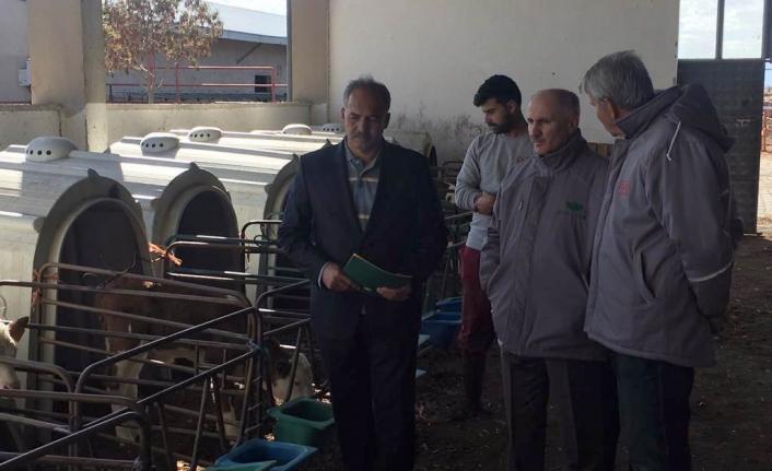 Vali Meral'den Duru Çiftliğe Ziyaret