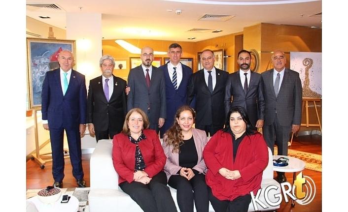 Karaman Barosu Başkanı Yılmaz'dan Feyzioğlu'na Ziyaret