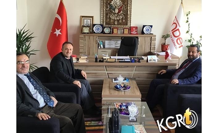 Rektör Akgül'den Sivil Toplum Kuruluşlarına Ziyaret