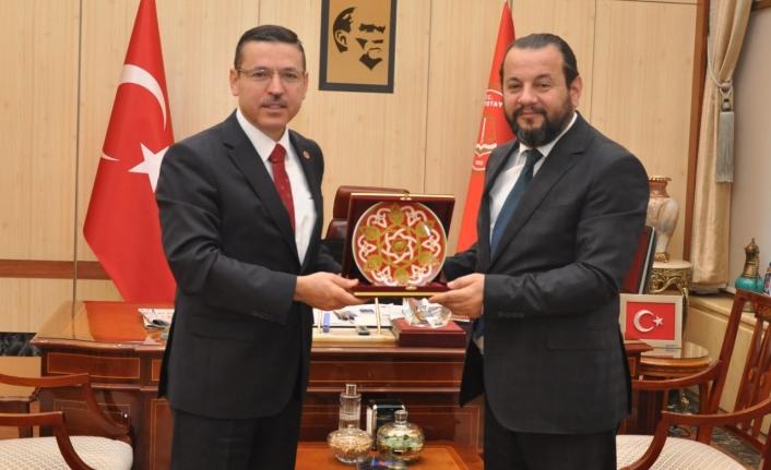 Rektör Akgül'den, Sayıştay Başkanına Nezaket Ziyareti
