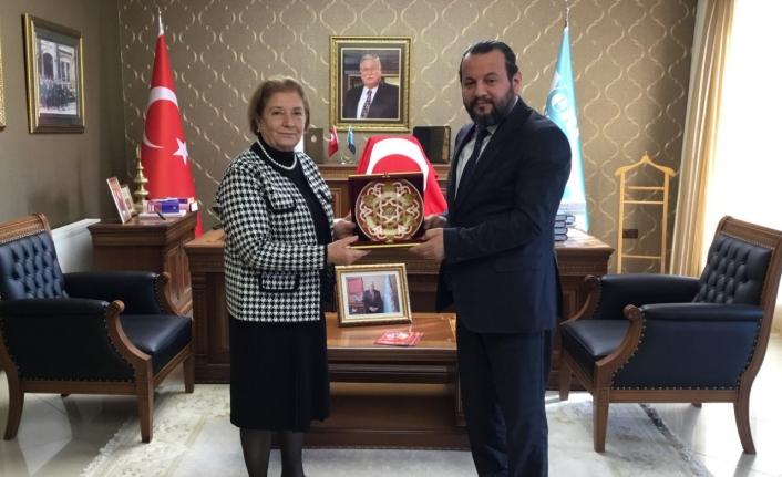 Rektör Akgül'den Yeni Türkiye Stratejik Araştırma Merkezine Ziyaret