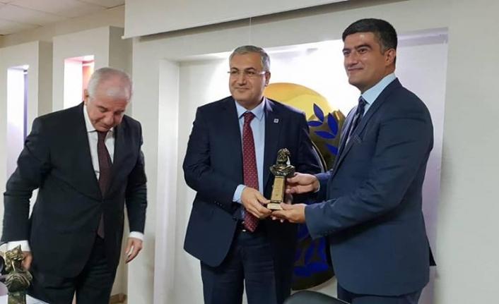 TÜRMOB Genel Başkanı A.Masis Yontan Karaman'daydı