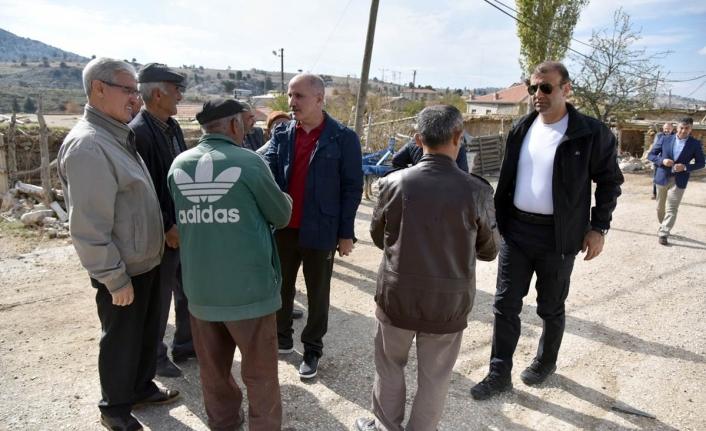 Vali Fahri Meral Aybastı Ve Özdemir Köylerini Ziyaret Etti